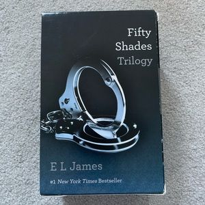 Fifty Shades Trilogy Paperback (All 3 books +case)